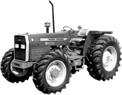 MF tractor 385/4wd